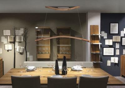 LED Lampe PARI aus alten Weinfasstauben, Eichenholz bis zu 100 Jahre alt, apollonlux.at