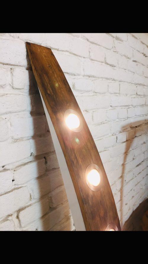 LED Deckenlampe LEAH, Lampe aus Holzfass, Lampe aus Weinfass, Eichenholzlampe, LED Spots, außergewöhnliches Design, edle Leuchten, dezente Leuchten, exquisite Leuchten, Designerlampe, dezente Lampe, Lampe mit schönem Design, Lampe für Esszimmer, Lampe für Esstisch, Holzlampe, schöne Lampen, Tischlampe, Pendellampe, Hängelampe, Hängeleuchten, Lampe für Essbank, interior Design, Handarbeit, Austria, upcycling lampe, ApollonLUX